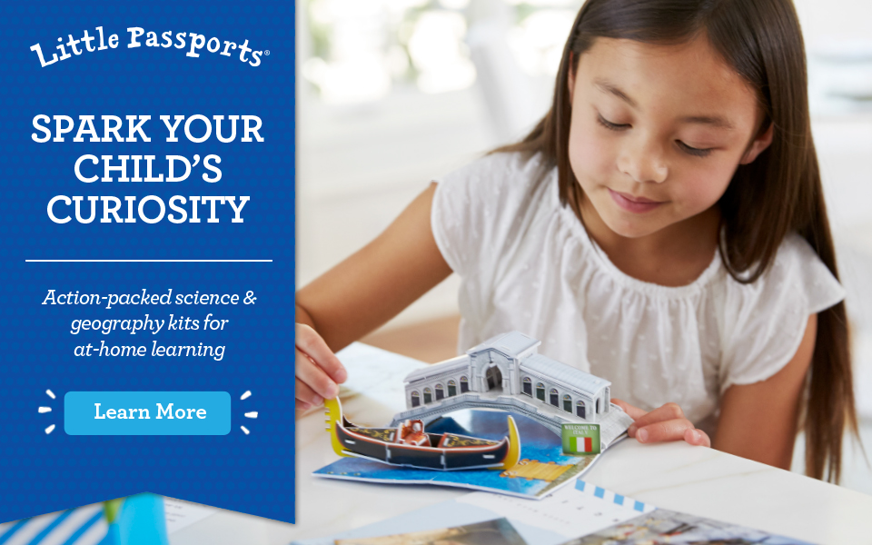 Little Passports – World Edition Subscription for ages 6-10